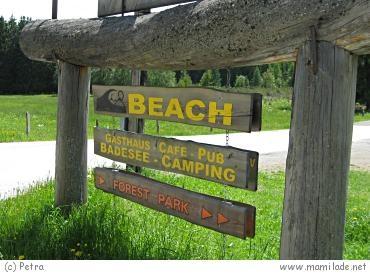Ramsau Beach