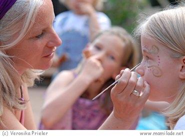 Kreative Kinderfeste á la carte - Schminken