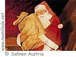 Advent mit dem Weihnachtsmann in den Salzwelten Salzburg Dürrnberg