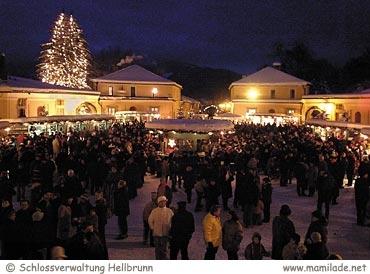 Hellbrunner Adventzauber Schloss Hellbrunn
