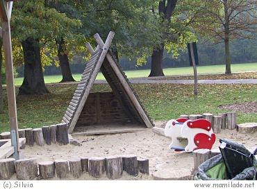 Spielplatz im Schlosspark Laxenburg