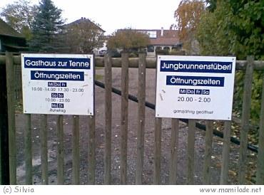 Streichelzoo beim Gasthaus zur Tenne in Bad Tatzmannsdorf
