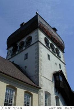 Der Martinsturm in Bregenz