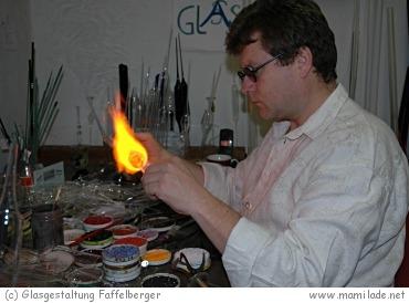 Kunstglasbläserei Walter Faffelberger in Pöggstall