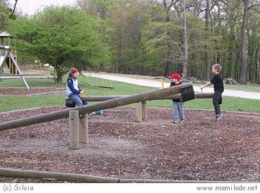Lainzer Tiergarten - Spielplatz beim Rohrhaus