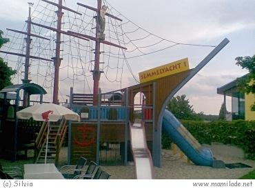 Spielplatz in der Bäckerei Naglreiter in Neusiedl