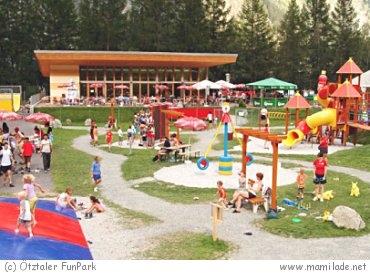 Ötztaler Funpark in Längenfeld