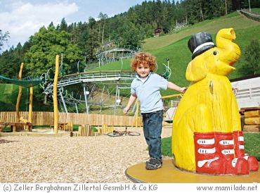 Abenteuerspielplatz beim Arena Coaster in Zell im Zillertal