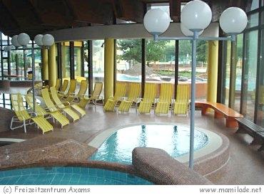 Badespaß im Freizeitzentrum Axams