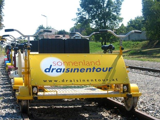 Sonnenland Draisinentour - Draisinen