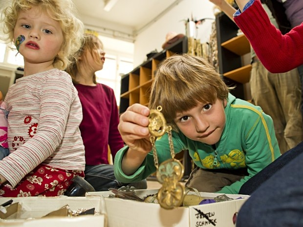 Kinderbetreuung im Theater in der Josefstadt - Schätze finden