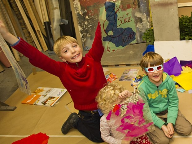 Kinderbetreuung im Theater in der Josefstadt - Schatzkarte