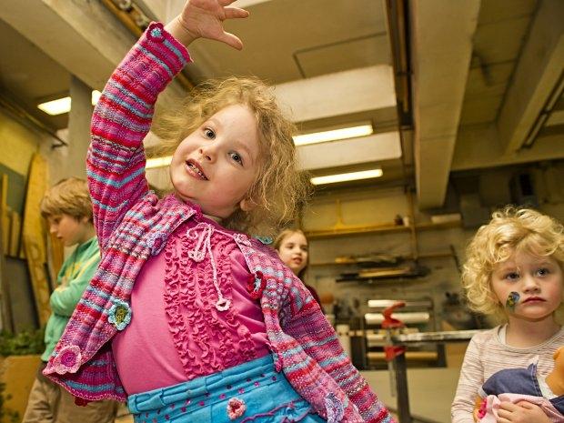 Kinderbetreuung im Theater in der Josefstadt - Spiel und Spaß