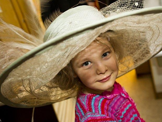 Kinderbetreuung im Theater in der Josefstadt - Verkleiden macht Spaß