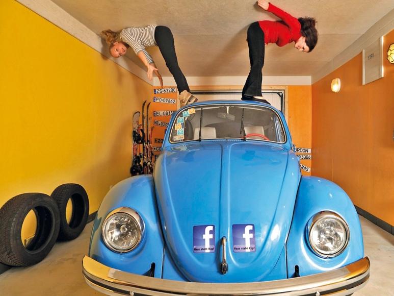 Vomperbach - Haus steht Kopf - Garage