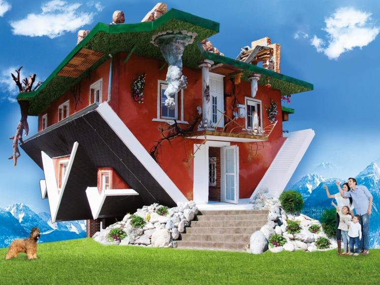 haus steht kopf in vomperbach mamilade ausflugsziele. Black Bedroom Furniture Sets. Home Design Ideas