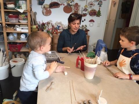 Mami-Check: Kunst&Keramik Werkstatt