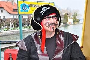 Attersee Schifffahrt Piratenschiff, copyright: Attersee Schifffahrt
