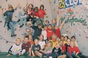 Kindergeburtstag in der Boulderhalle im Freizeitzentrum Axams (c) Hubert Riedl/Susi Grill