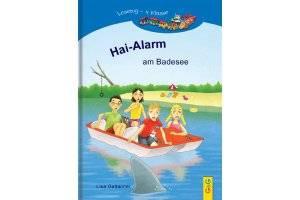 Kinderbuch Hai-Alarm am Badesee (c) G&G Verlag