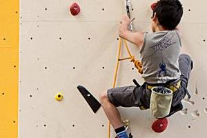 Kletterhalle climb on Marswiese (c) Sportstättenverein Marswiese