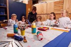 Kindergeburtstag in der Landesgalerie Burgenland in Eisenstadt (c) Roland Schuller