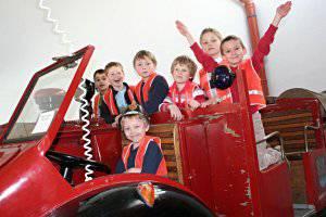 Kindergeburtstag (c) Steirisches Feuerwehrmuseum