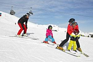 Skigebiet Golm im Montafon (c) Illwerke Tourismus