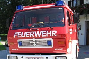 Feuerwehr Großgmain, copyright: Diana