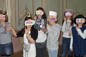 Kindergeburtstag in der Kaiserlichen Hofburg zu Innsbruck (c) Gruppe KiM