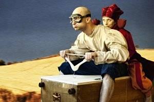 "Theater Feuerblau ""Kaiser Tunix"" im Frida & fred (c) Arian Andiel"