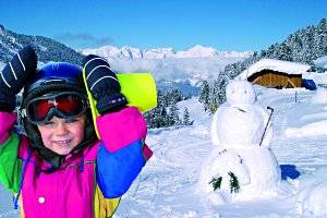 Gratis-Skikurse für Kinder in der Silberregion Karwendel (c) TVB Silberregion Karwendel