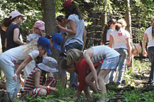 Kindergeburtstag (c) Naturpark Sparbach