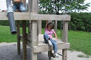 Spielplatz Kirchberg, copyright: Diana