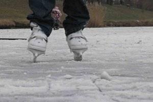Eislaufen in Wolkersdorf (Obersdorf) (c) PB