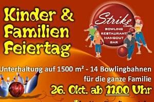 Kinder & Familien Feiertag im Strike Center Lauterach (c) TREND Bowlingbahnenbetriebs GMBH & CO KG