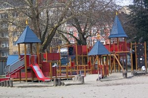 Spielplatz in Linz, copyright: Diana
