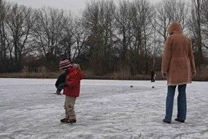 Eislaufen auf dem Lunzer See (c) PB
