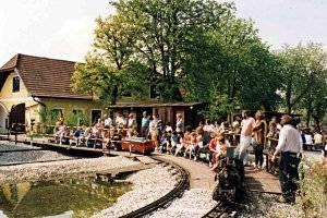 Minidampfbahn (c) Fam. Mayrhofer