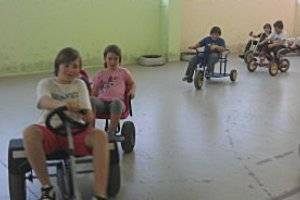 Kindergeburtstag in der MOKE - Modellbau- und Kindererlebniswelt (c) SK