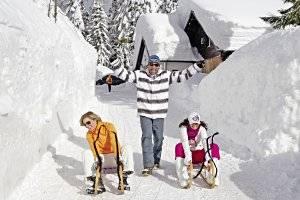 Rodeln im Skigebiet Nassfeld, copyright: Karnische Incoming GmbH