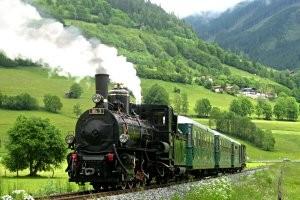 Pinzgauber Lokalbahn Dampfzugfahrten, copyright: Salzburg AG
