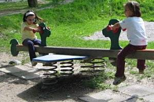 Spielplatz in Salzburg, copyright: Diana