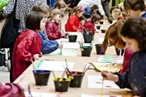 Sammlung Essl Kinderworkshop (c) Niko Havranek, 2011