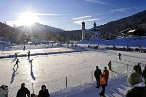 Eislaufen im Olympia Sport- und Kongresszentrum Seefeld (c) Olympia Sport- und Kongresszentrum Seefeld