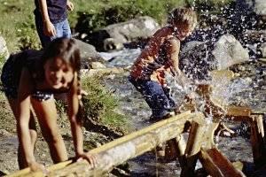 Wassererlebniswelt Murmliwasser Serfaus  (c) Serfaus-Fiss-Ladis / Tirol