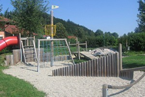 Kinderspielplatz in Helpfau – Uttendorf, copyright: Diana
