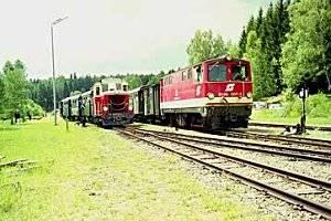 Der Wackelsteinexpress (c) Waldviertler Schmalspurbahnverein