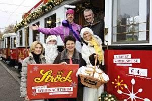 Weihnachtsbim (c) Wiener Linien/Thomas Jantzer