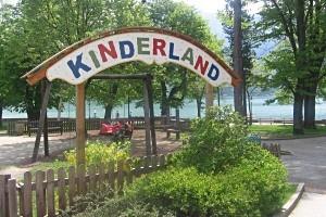 Spielplatz im Stadtpark Zell am See, copyright: Diana